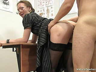 jav  mature teacher  ,  milf in glasses  ,  mom and boy   porn movies