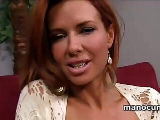 Dirty milf craving for huge black monster cock with giant tits and pussy