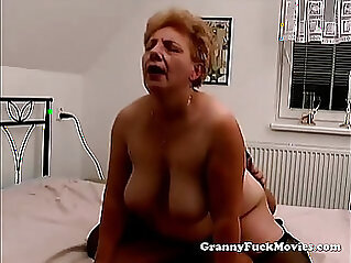 Granny with tits