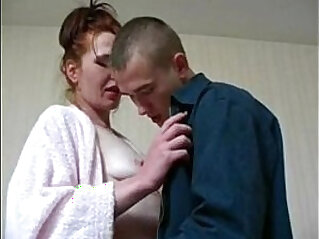 Lana redhead milf love sex with younger guy